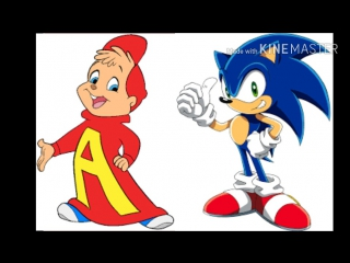 Alvin and the Chipmunks Version (Style) Sonic the Hedgehog