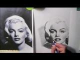 Я Тебя Нарисовал ._ Marilyn Monroe