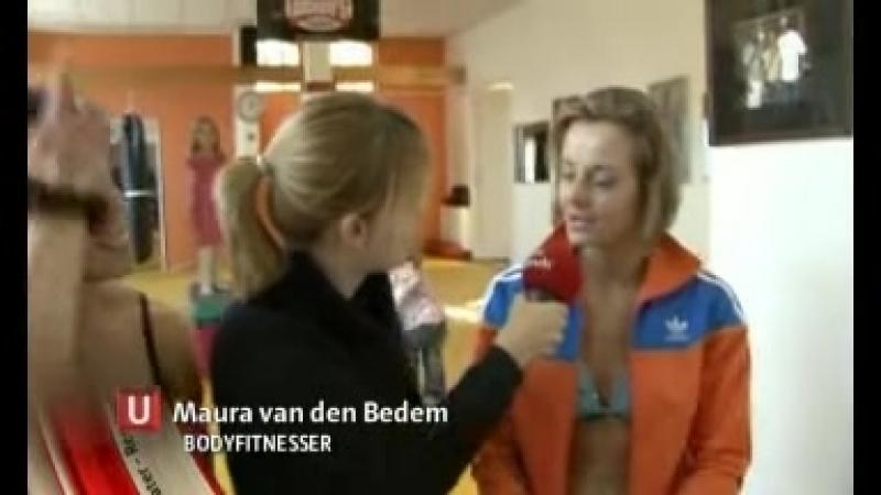 Aimée Molleman Maura van den Bedem on Dutch tv