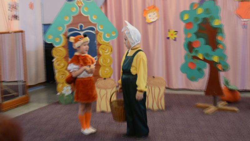 Театрализация на татарском языке Бер алманы бишкэ булэек.С этой театрализацией мы вышли зональный конкурс.
