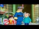 КНДР мультфильм 교통질서를 잘 지키자요 3 동생이 쓴 축하장