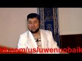 Видео, на котором имам призывает наказывать жен, появилось в сети(vk.com/usluwennobaik)