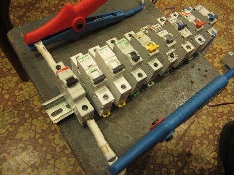 Переходное сопротивление автоматов (АВВ, Schneider Electric, IEK, EKF, Legrand, Hager, Eaton и др.)