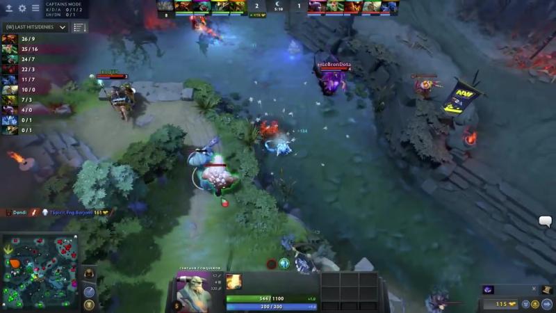 [Dota2RuHub] Natus Vincere vs Spirit,GESC CIS, game 2 [Lex, LighTofHeaveN]