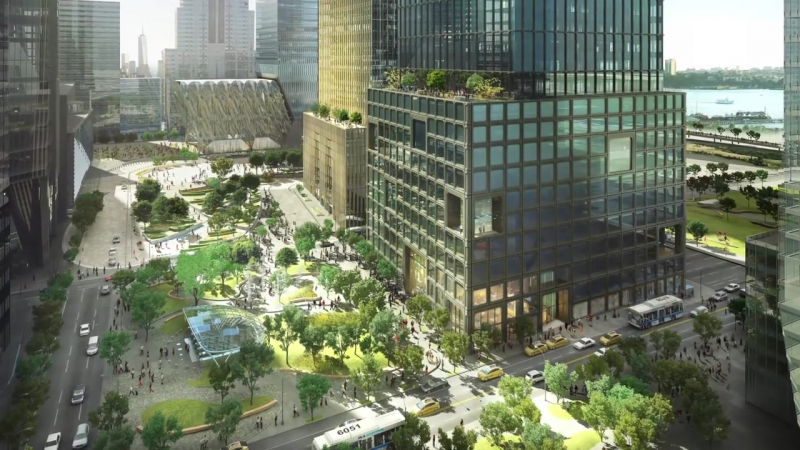 The Hudson Yards Public Square - New Yorks Other Elevated Park