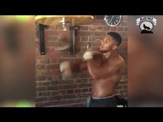 Тренировка Энтони Джошуа - Фитнес мотивация