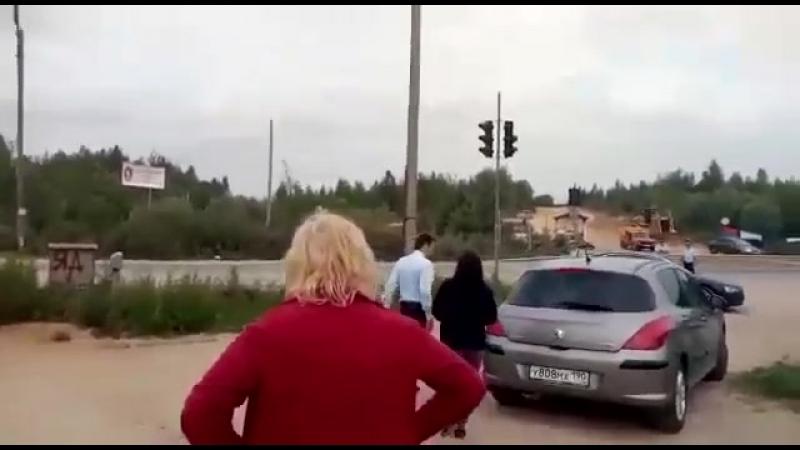 Визит Максима Тарханова в Щелканово.