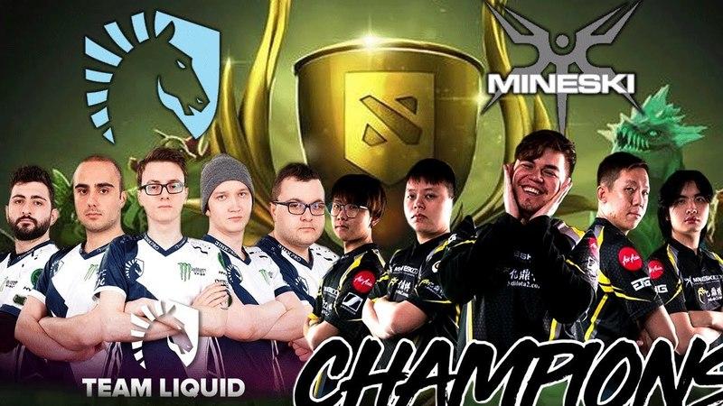 DAC vs TI7 Champions Miracle FULL Team Liquid vs Mineski Meet on Battlecup EPIC Battle Dota 2