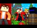 Demaster ПРЯТКИ В МАЙНКРАФТЕ ВЕРНУЛИСЬ! АИД, ТЕРОСЕР И СМЕЙЛ ОХОТЯТСЯ ЗА МНОЙ В ОГРОМНОЙ КОМНАТЕ! Minecraft
