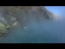 Панорама из кратера вулкана Иджен 🌋