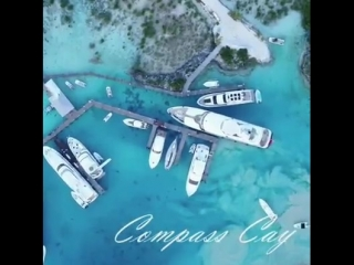 Oh no worries, just casually parking a superyacht in the Bahamas