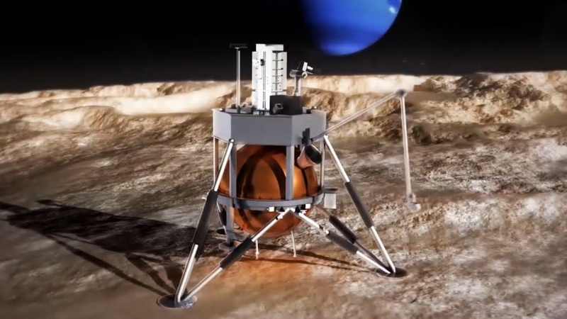 Triton Hopper: A Lander on Neptune's Moon Triton