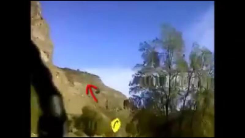 ЧИЛИ.... видео снятое во время поездки в Cajón del Maipo, в котором Нло появился из холмов....