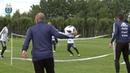 Primer entrenamiento de la Selección en el Bronnitsy Training Centre