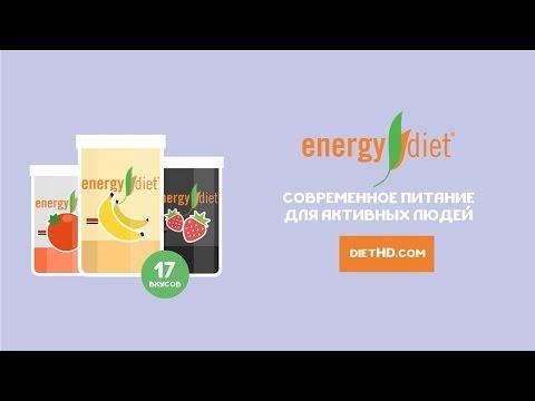 Сбалансированное питание Energy Diet от NL International. Состав и как это работает.