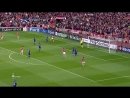 лига чемпионов 2008/2009, 1/2 финала, 2-й матч, Арсенал - Манчестер юнайтед, нтв, 1-й тайм