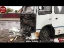Дві маршрутки спричинили серйозну аварію з потерпілими. Водій-винуватець втік