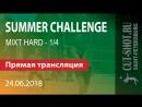 24.06.2018 SUMMER CHALLENGE - MIXT HARD 1/4