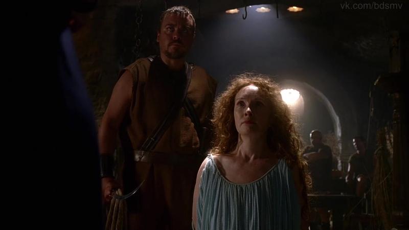 бдсм сцены bdsm похищение бондаж изнасилования rape порка из сериала Rome Рим S02E04 2007 год