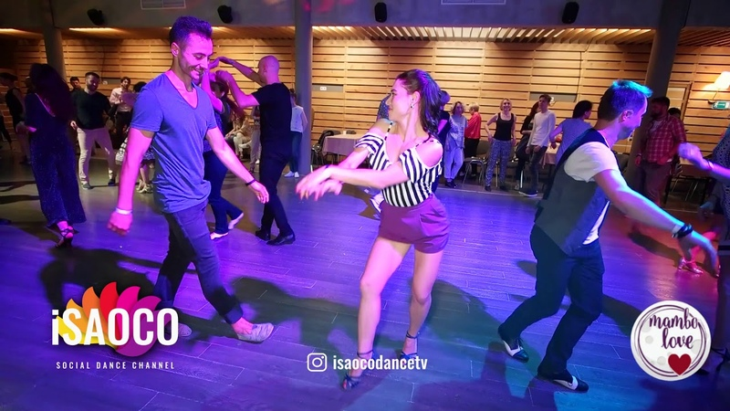 Jakov Krželj and Olesya Petrova Salsa Dancing in Mambolove Saturday 09 06 2018