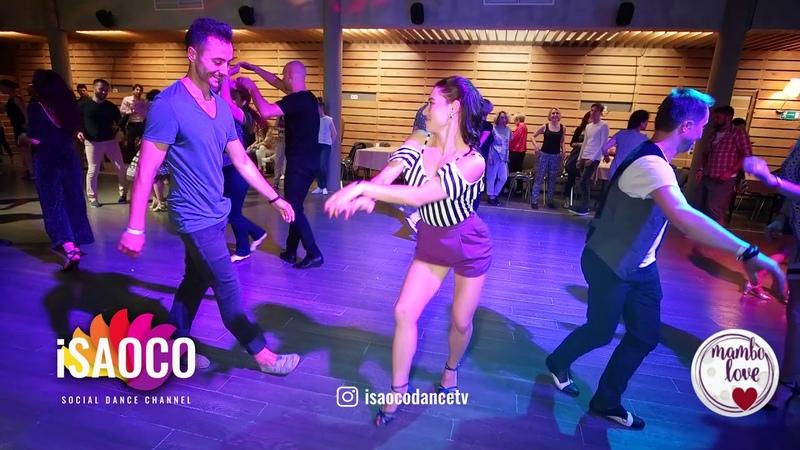 Jakov Krželj and Olesya Petrova Salsa Dancing in Mambolove, Saturday 09.06.2018