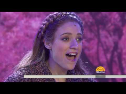 Anastasia Live on The Today Show - Video and Projection Design
