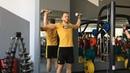 Упражнения для разминки плеч и укрепления ротаторов плеча