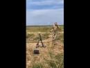 Пашинский собственноручно протестировал новый украинский 60-мм миномет