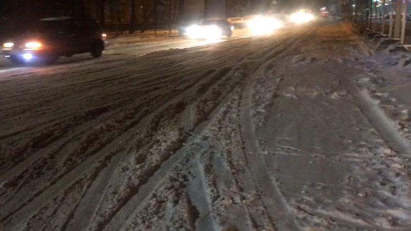 Обильный снегопад в Солнечногорске, коммунальщики бездействуют