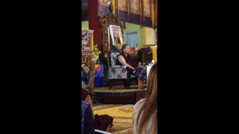 Karmapa 17 Thaye Dorje 12.03.2018