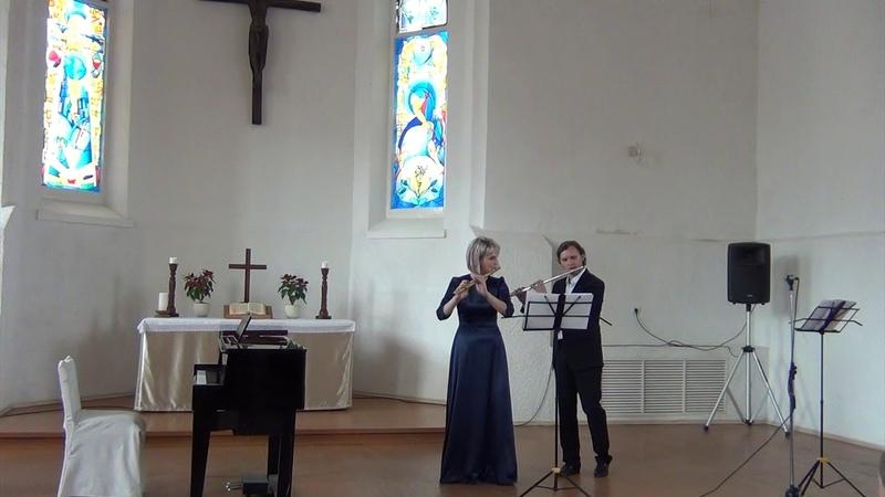 Г. Ф. Телеман Соната B-Dur для 2х флейт