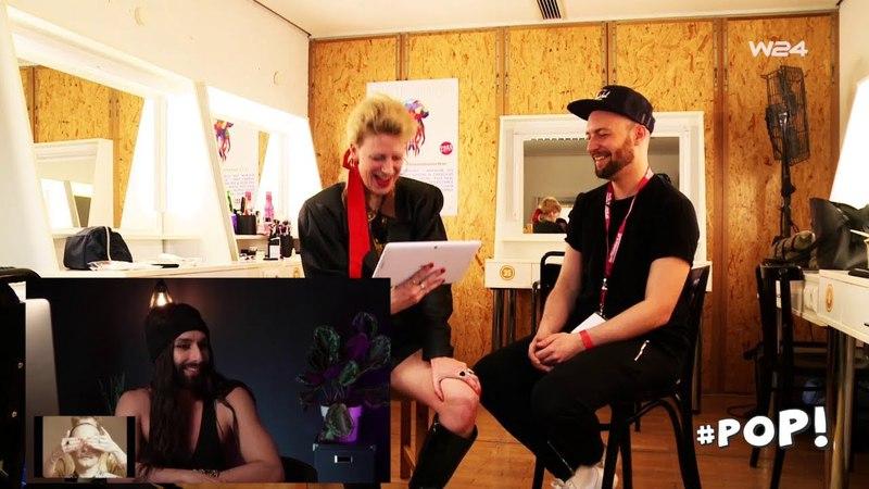 Conchita überrascht Ankathie Koi (W24, Pop! Was geht ab in Wien?)