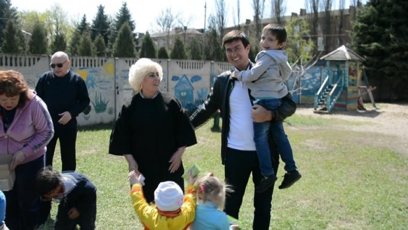 В центре социально-психологической реабилитации в Славянске