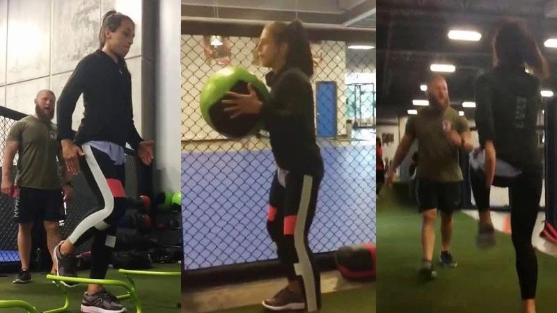 Joanna Jedrzejczyk Workout ATT 29 06 18