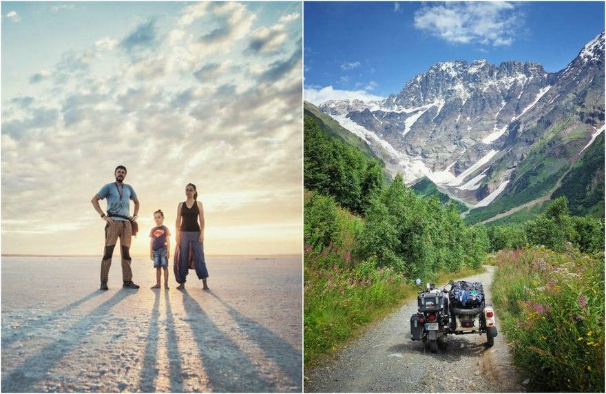wIR 8T5IQWY - Путешествие по Грузии и Армении на «Урале» с коляской