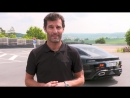 Mark Webber drives the Mission E at Porsche's test track in Weissach