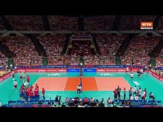 25.05.2018. Волейбол. Лига наций. Мужчины. 1 тур. Группа 1. Россия - Канада