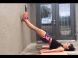 Стенка - тоже отличный инструмент для эффективной тренировки! Добавляем упражнения в свою тренировку!