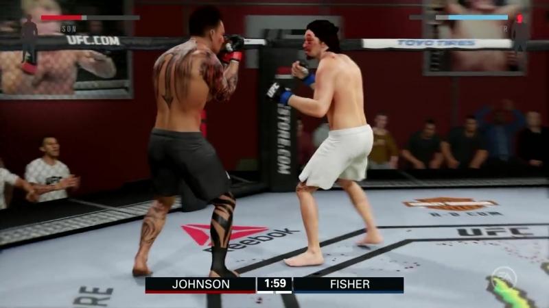 [LOKIϟPLAY] UFC 2 КАРЬЕРА 1 - БЫЧАРА