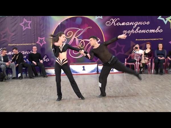 3.6.2018 КП-2 Final JJ Stars Slow 4 место №163 Александр Иентш - Марина Иентш