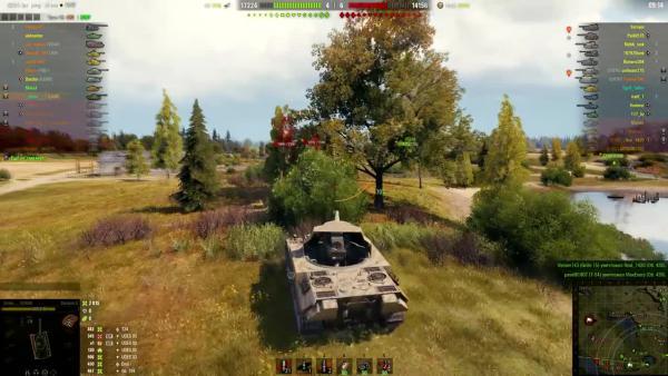 World of Tanks - Карта Малиновка! Супер позиция для обороны!