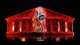 Emotions of great football 3d mapping show.