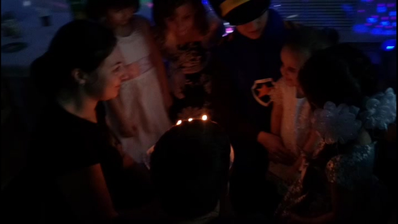 Вынос торта. День рождения в студииРозовый слон