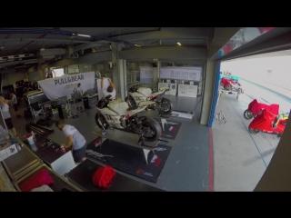 Angel Nieto Team обустраивает боксы в Бурираме #video@motogpru
