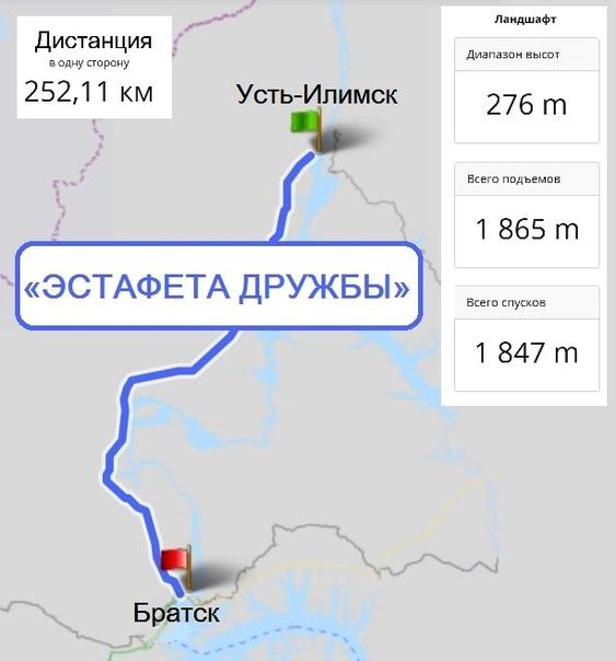 «Трасса мужества Братск – Усть-Илимск»