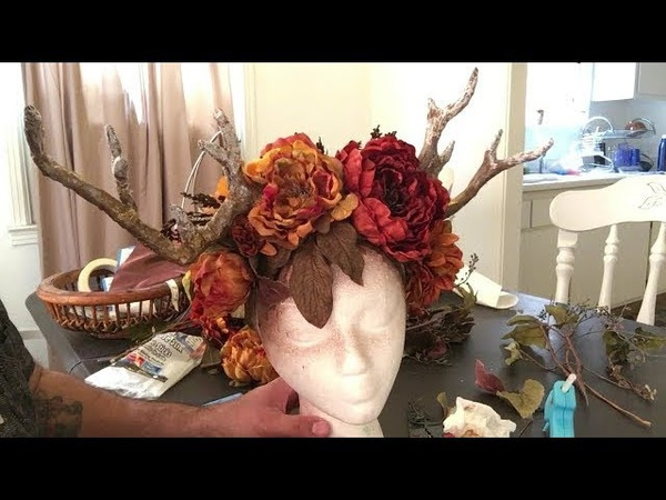 How to Make a Deer Fawn Antler Headpiece