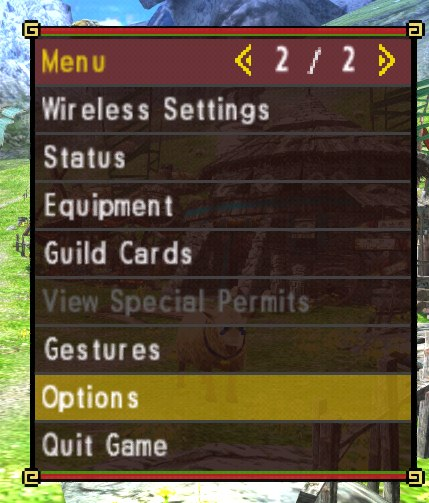 Игра на эмуляторе Citra [MHXX] SlgE-5mg0EY