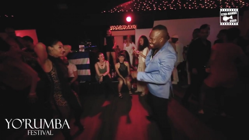 Fredyclan Garcia Batista Barbara Jimenez - social dancing @ YORUMBA FESTIVAL
