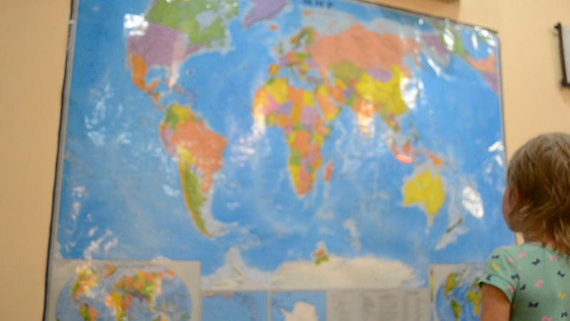 Урок географии мира