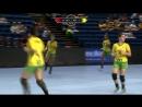 10.07.18 WC-U20. 1/8. Россия 32:20 Бразилия